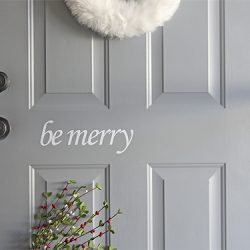 Christmas Door Decals FI