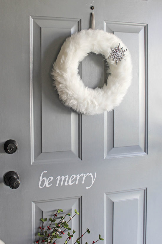 Christmas decals for your door