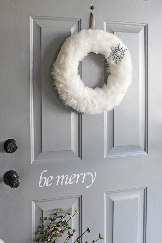 Christmas decals for your door
