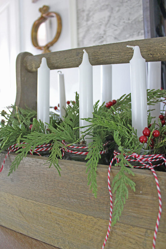 different ways to decorate with Christmas garland, and get the most out of it