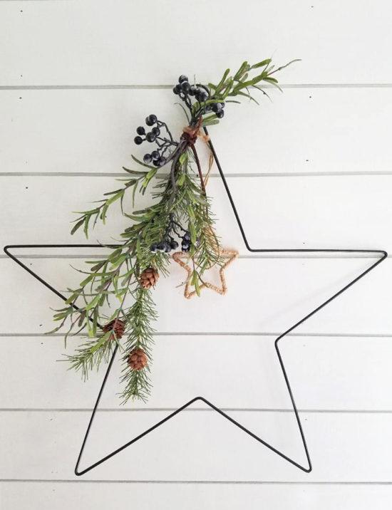 Simple Christmas Star Decoration