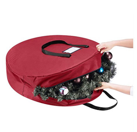 Storage bag for Christmas wreath