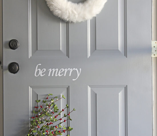 be merry Christmas decals