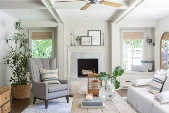 fixer upper living room - Neutral Living Room