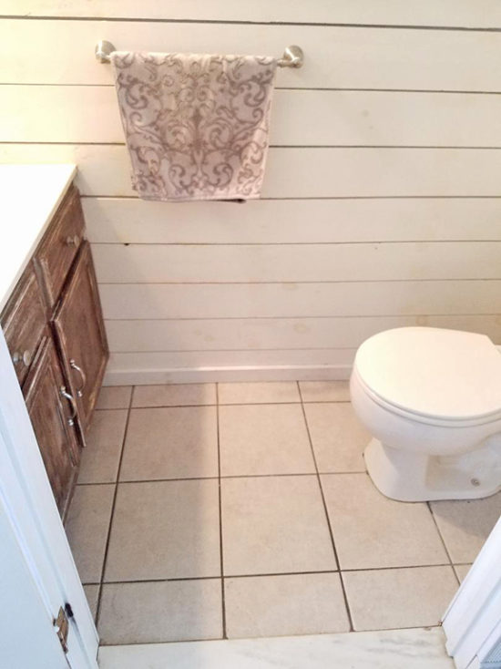 updating tile floors without removing them