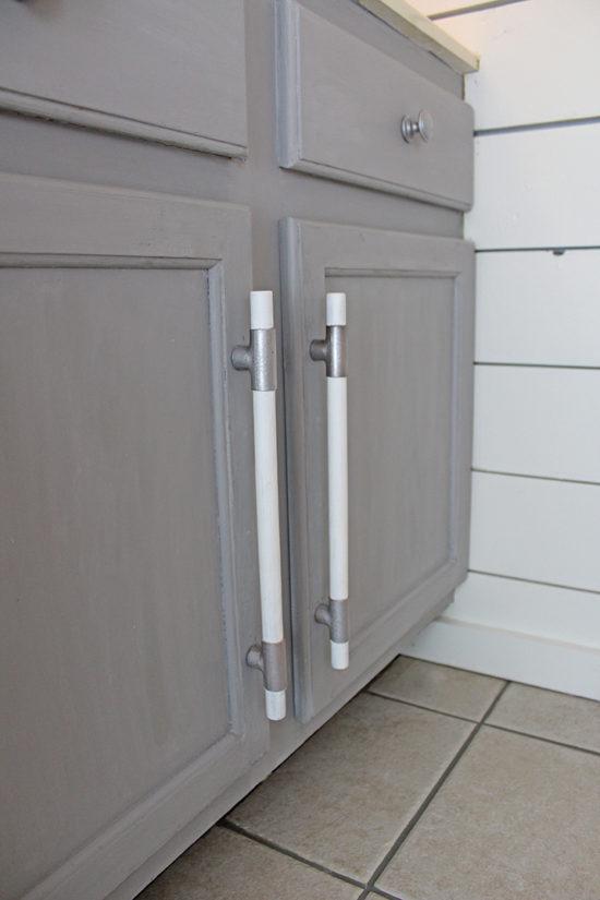 DIY cabinet handles