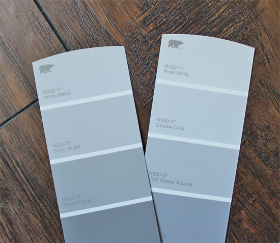 Paint samples 33