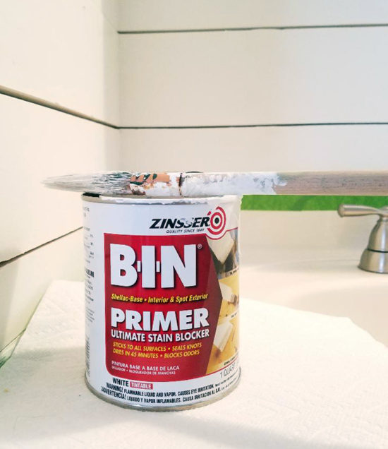 Zinsser primer how to hide knots in wood