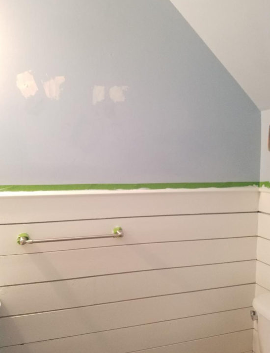 how to cover knots in shiplap