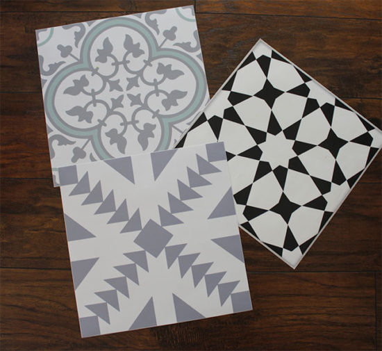 removable floor decals