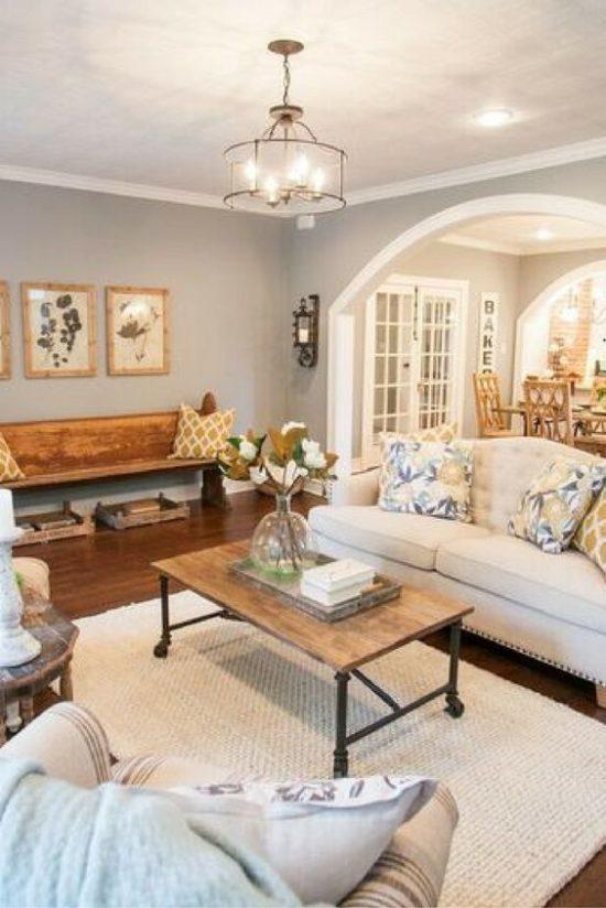 fixer upper living room joanna gaines