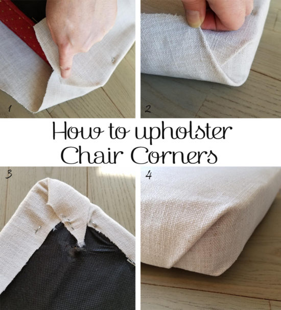 How to Upholster Chair Corners