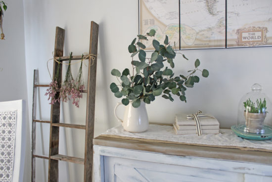 Spring decorating ideas, eucalyptus