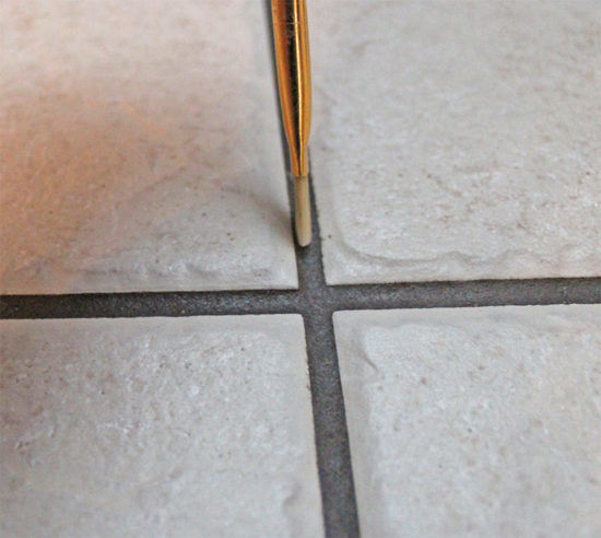 painting grout
