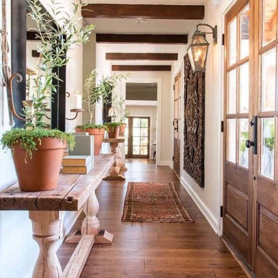 fixer upper entry hall