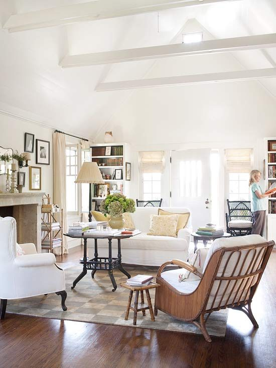 mixing antiques with new furniture, mix-and-match-decorating