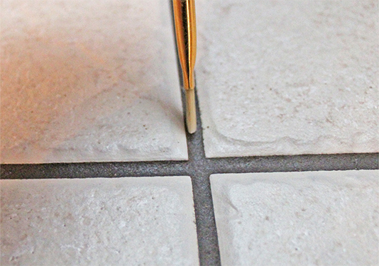 Painting Grout How-To