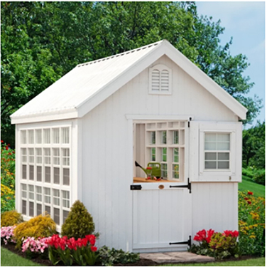 Greenhouse or She Shed?