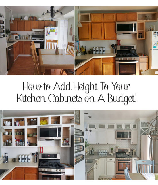 how to add height to kitchen cabinets kitchen cabinets how to add height 16767