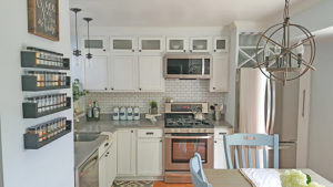 adding height to kitchen cabinets, tall kitchen cabinets, FI