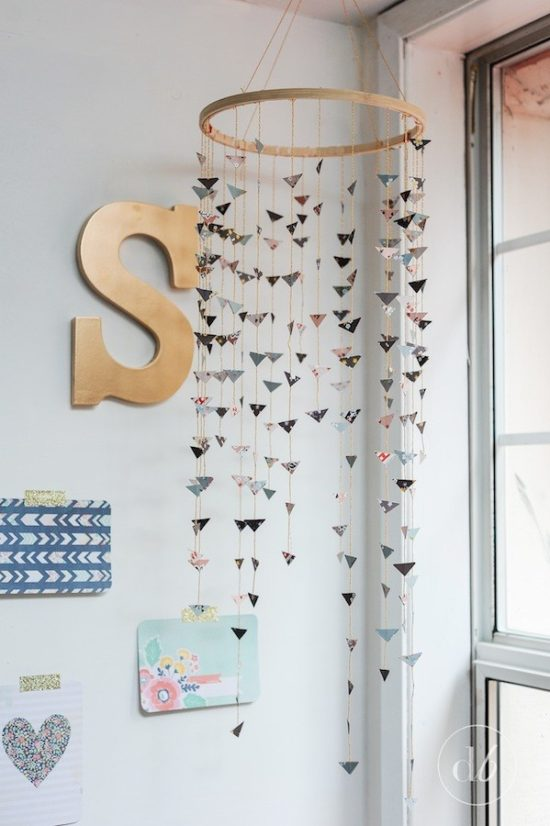 embroidery hoop mobile dwell beautiful