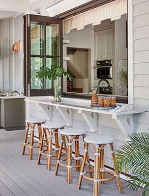 indoor outdoor patio bar