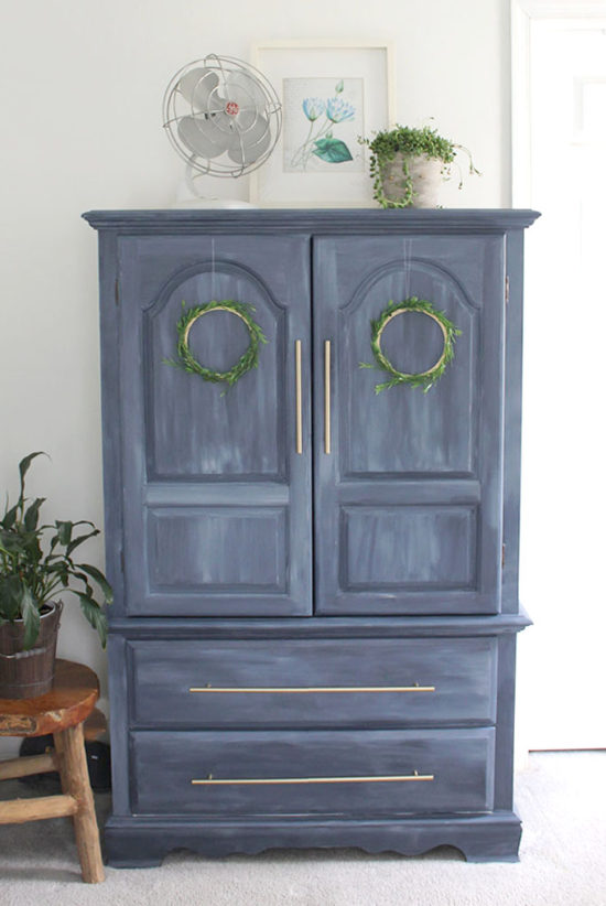 Blue furniture makeovers, fusion mineral paint
