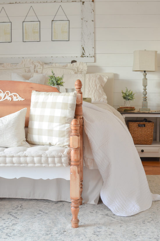 farmhouse style cottage bedroom from Little Vintage Nest