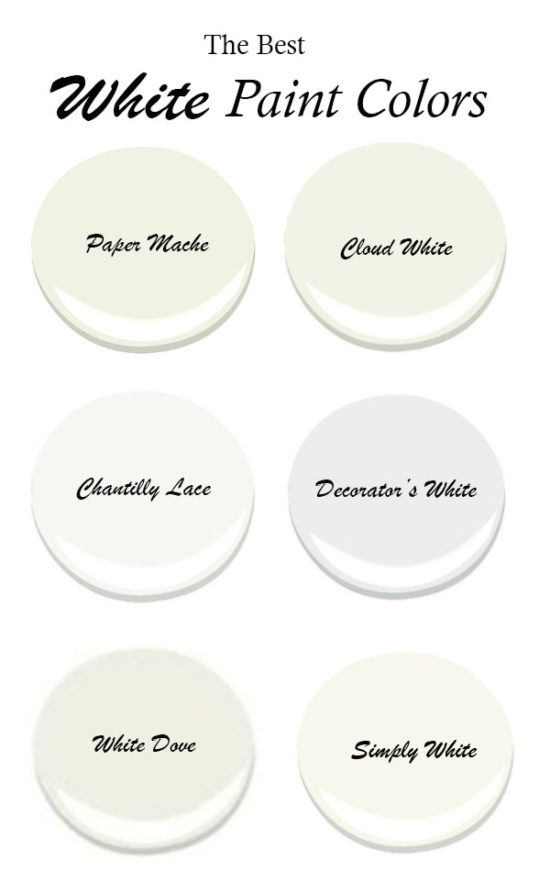 The Best White Paint Colors With Little Undertones Benjamin Moore Pin
