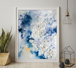 Watercolor Paintings from Etsy FI