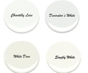 benjamin moore white paint colors FI