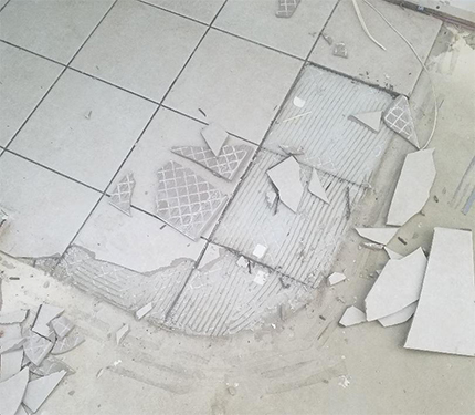 How to Remove Tile (Ugh!)