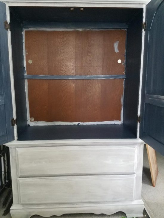 painted furniture how to armoire