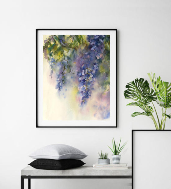 Fine Art Print, watercolor painting print