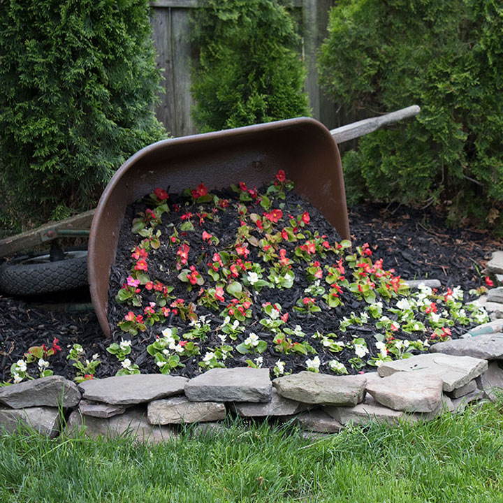 Wheelbarrow Planter the Honeycomb Home