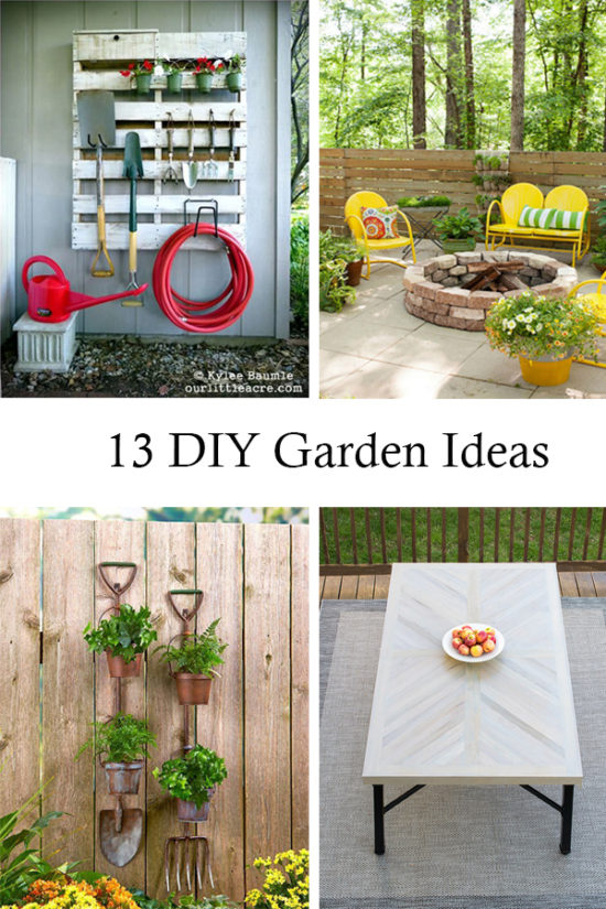 Amazing DIY Garden Ideas you have to see! PIN