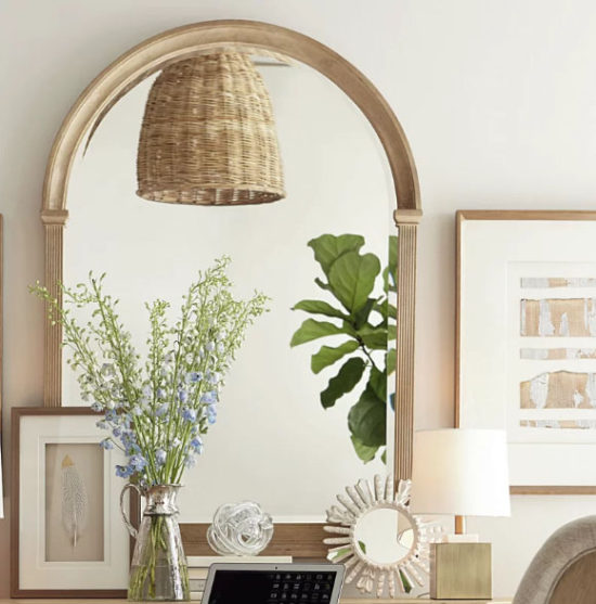 Arched Mirror for above mantel