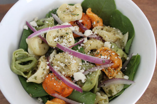 everyone's favorite tortellini salad