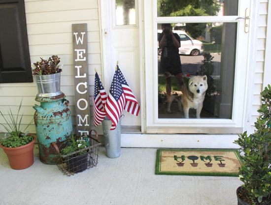 summer front porch, small porch decorating ideas