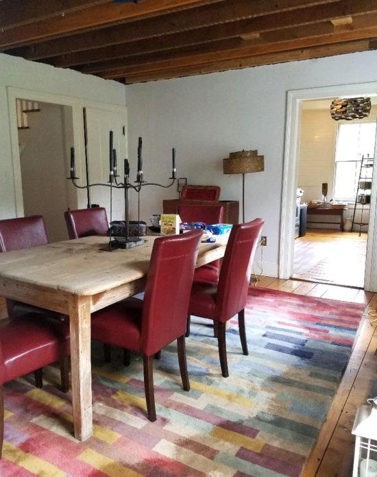 country farmhouse decor, farmhouse tour dining room