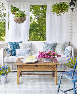 9 Incredible Outdoor Living Spaces from Bloggers
