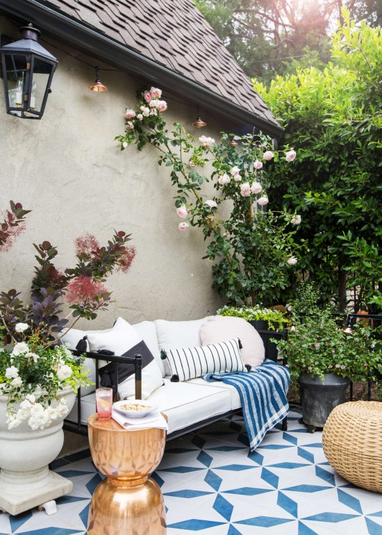 Emily-Henderson_House-Beautiful_Courtyard_Tile_Modern_English_Country_2