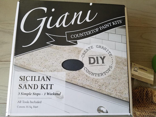 Giani granite countertop kit