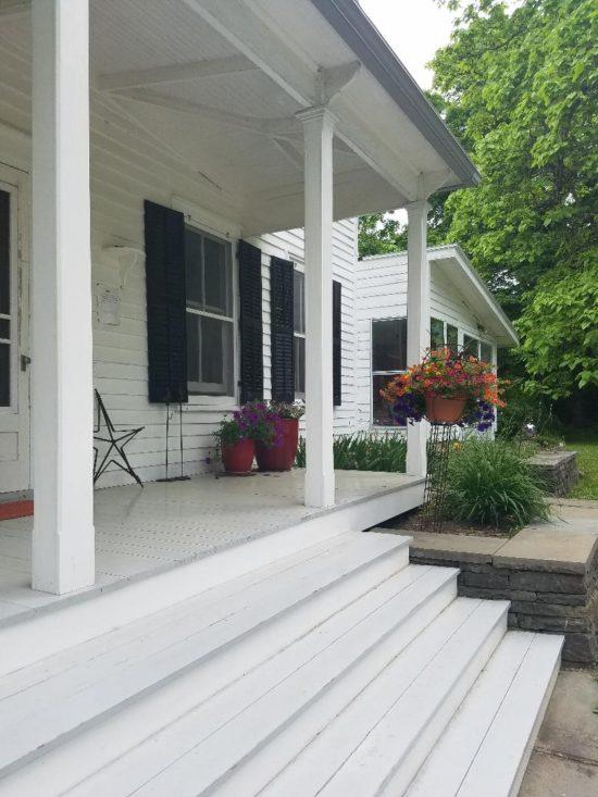 airbnb farmhouse porch