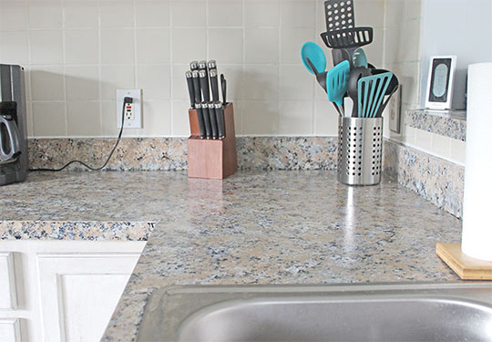 DIY Granite Countertops – Yes, Really!