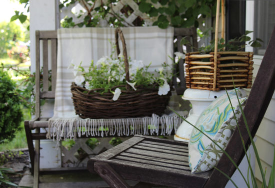 pretty decorating ideas for a small front porch