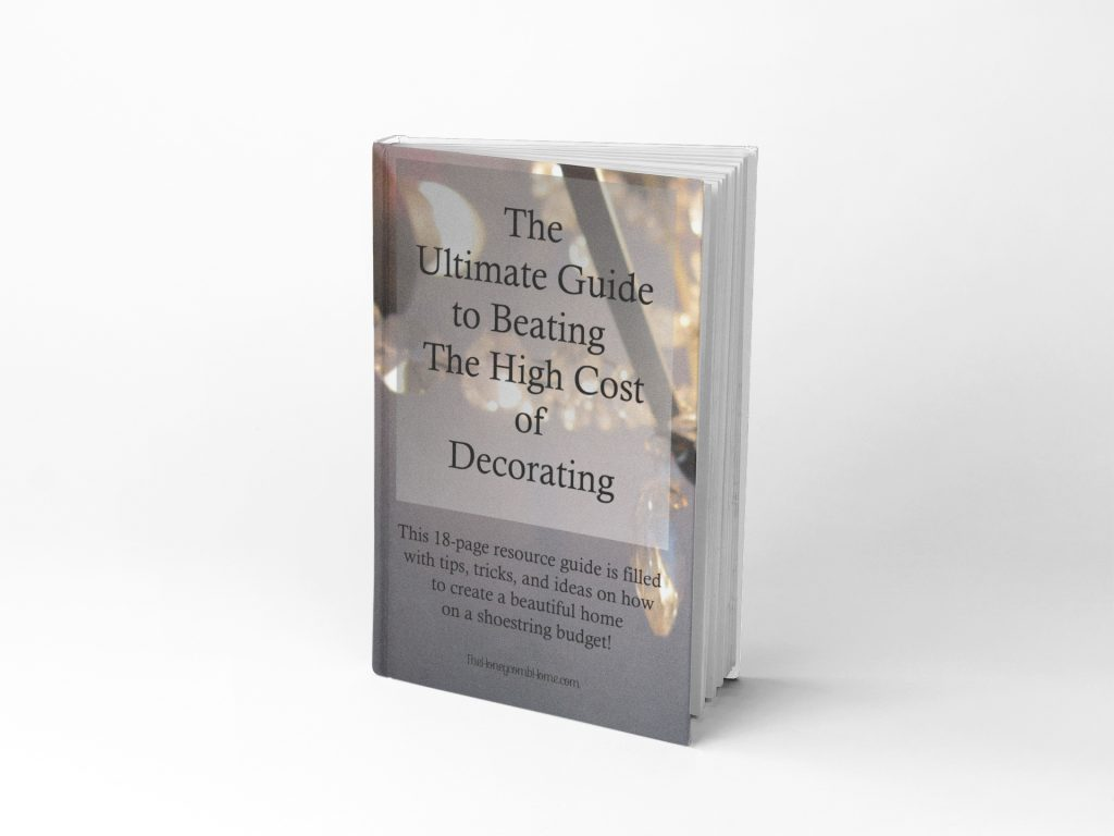 ultimate guide to beating the high cost of decorating eBook - a must read!
