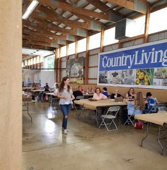 workshop at country living fair