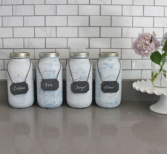 DIY-Kitchen-Canisters-Summer-Kitchen-ideas, summer kitchen decor ideas