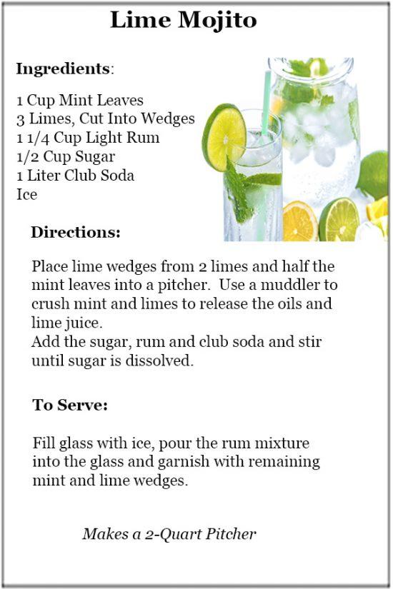 Lime Mojito Recipe